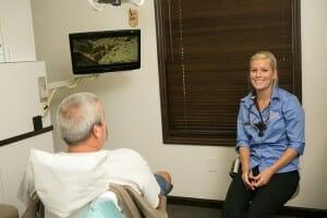 dental patient exam