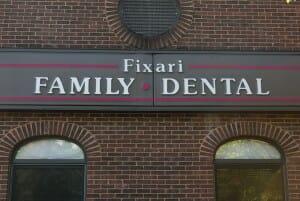 exterior building of Fixari Family Dental