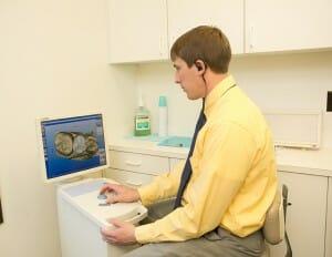Fixari Family Dental dentist using CEREC technology