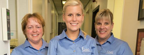dental team members at Fixari Family Dental